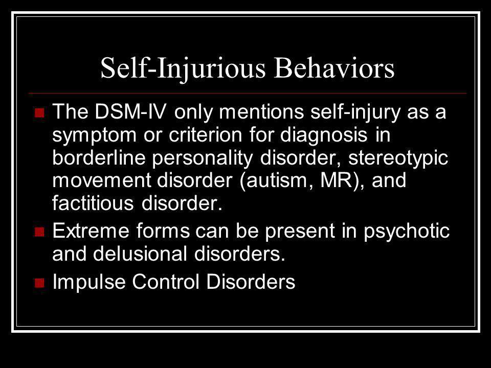 Epidemiology of S.I.B.