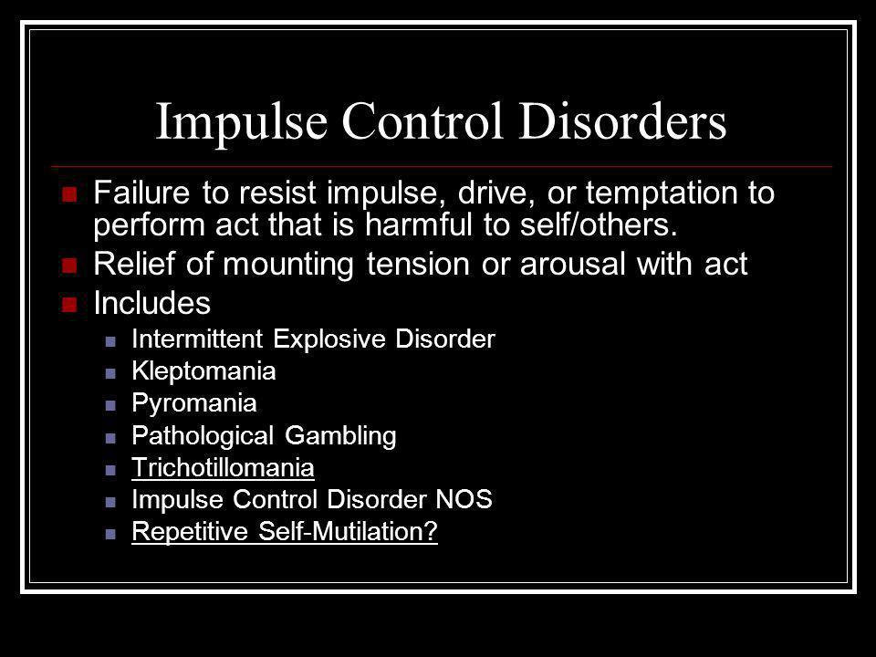 Compulsive vs.