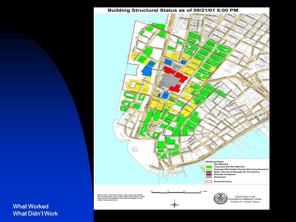 What Worked What Didn't Work NYC Damage Map
