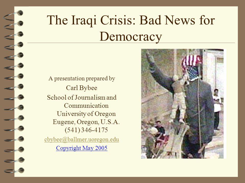 War In Iraq : March 20, 2003-1