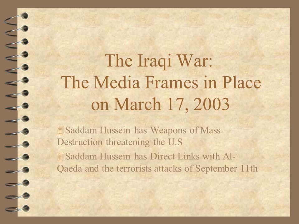 War In Iraq : March 28, 2003-2