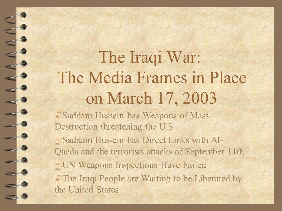 War In Iraq : March 22, 2003-2