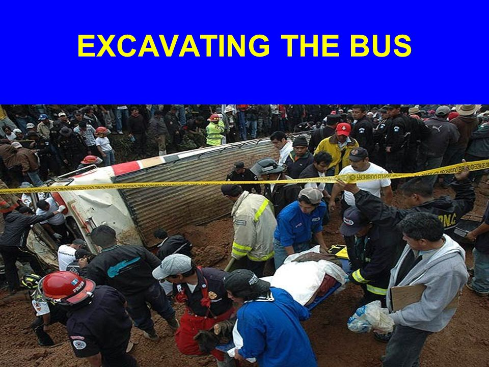 EXCAVATING THE BUS