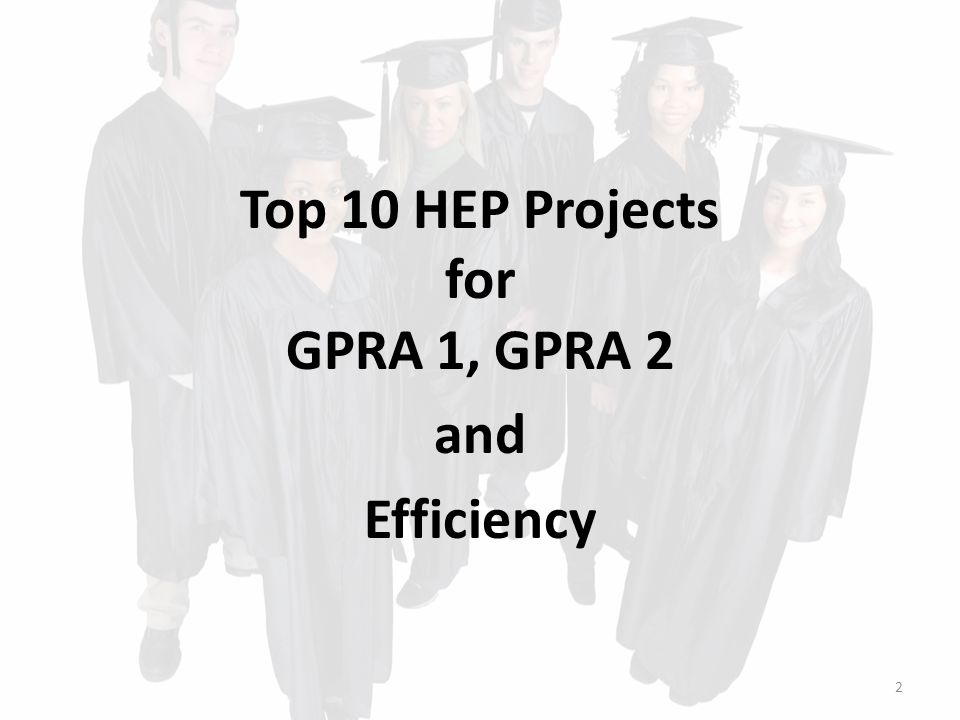 Top 10 CAMP Projects for GPRA 1 Top 10 CAMP Projects for GPRA 1  Wenatchee Valley College, Wenatchee, WA (100%)*  CSU at Sacramento, Sacramento, CA (99%)  Central Washington University, Ellensburg, WA (98%)*  Eastern Washington University, Cheney, WA (98%)  University of Washington, Seattle, WA (98%)*  University of South Florida, Tampa, FL (97%)*  Washington State University, Pullman, WA (97%)  CSU at San Marcos, San Marcos, CA (96%)  Oregon State University, Corvallis, OR (96%)*  CSU at Bakersfield, Bakersfield, CA (95%)*  CSU at Monterey Bay, Seaside, CA (95%) 12