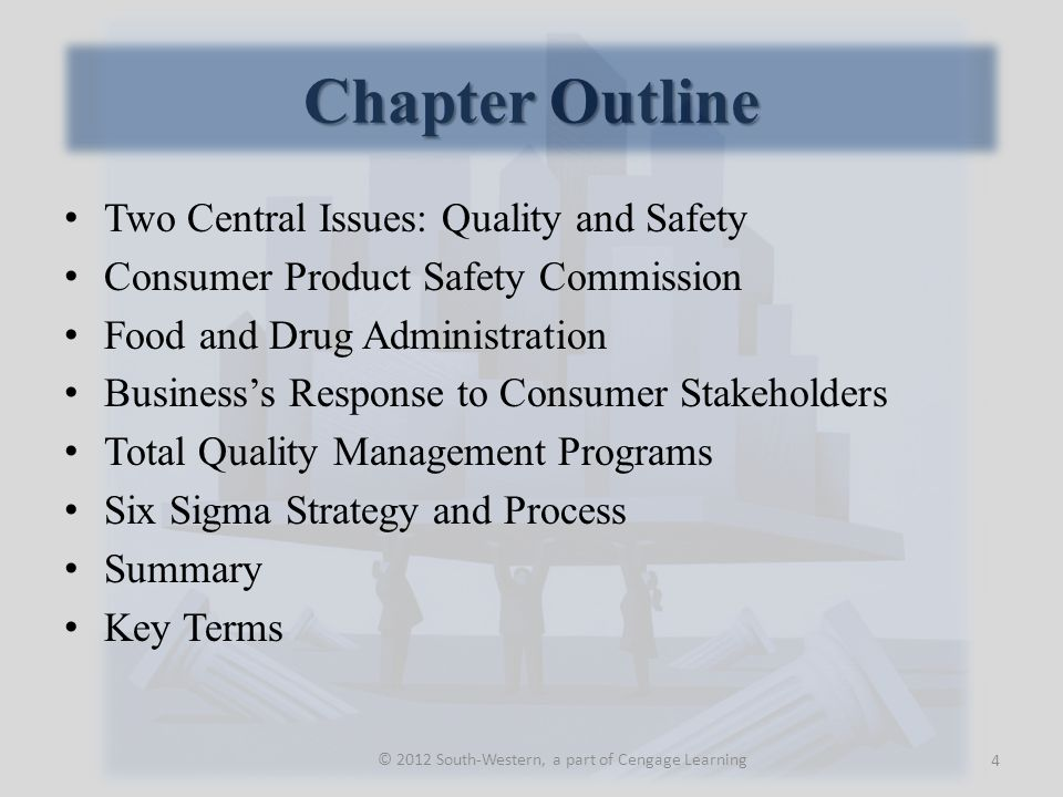 Two Central Issues Quality Product quality means different things to different people.