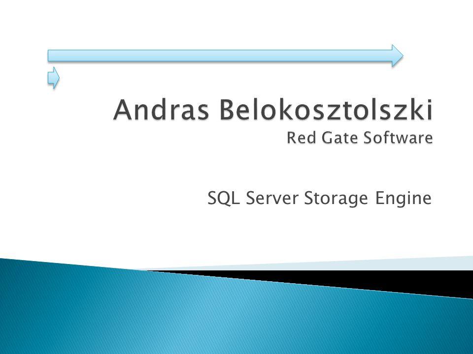 SQL Server Storage Engine