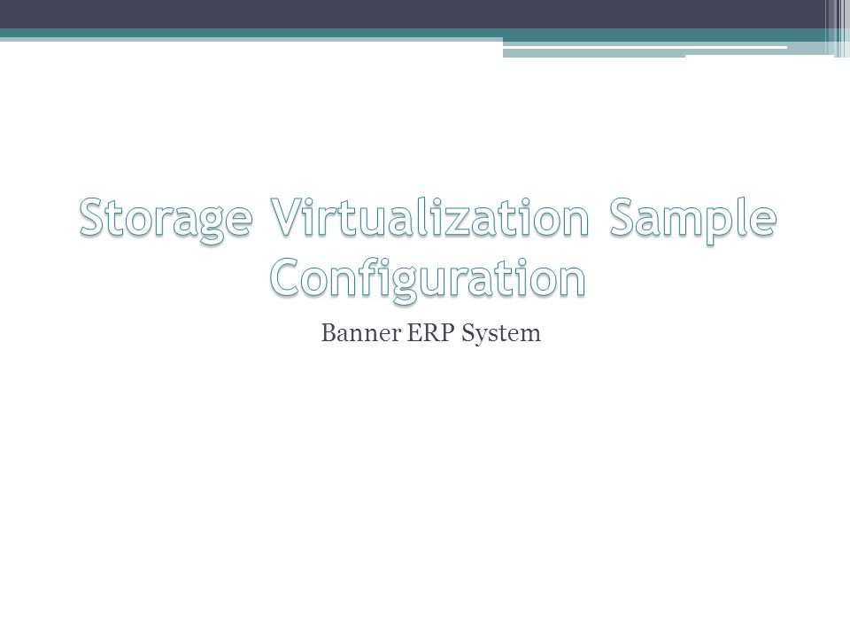 Banner ERP System