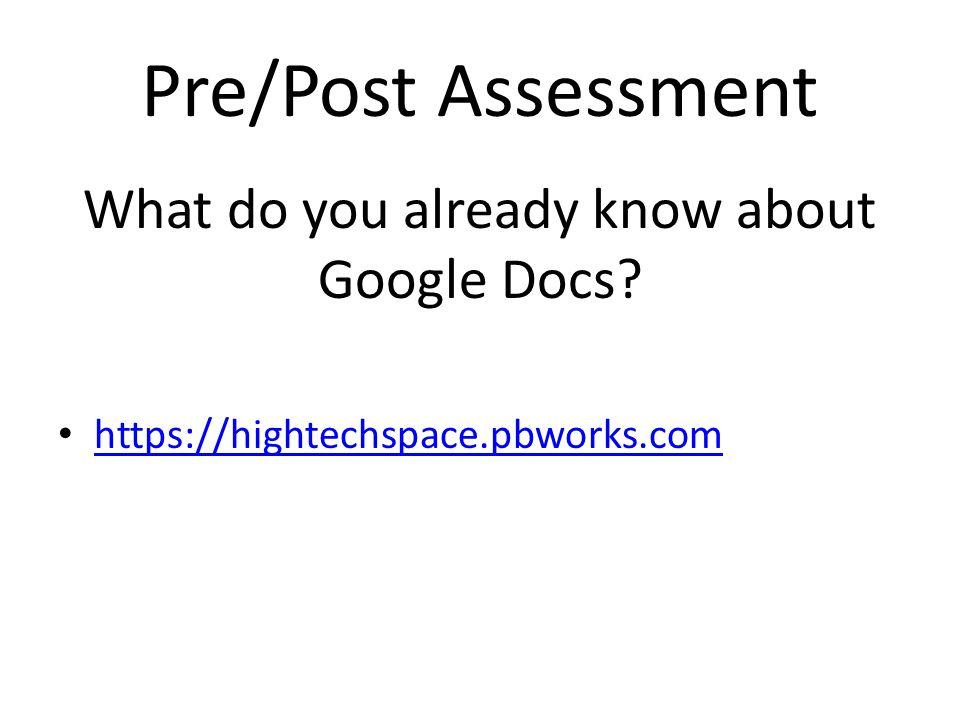 Presentations Creating a presentation-Use Google Chrome Sharing a presentation Collaborate with someone Uploading a presentation