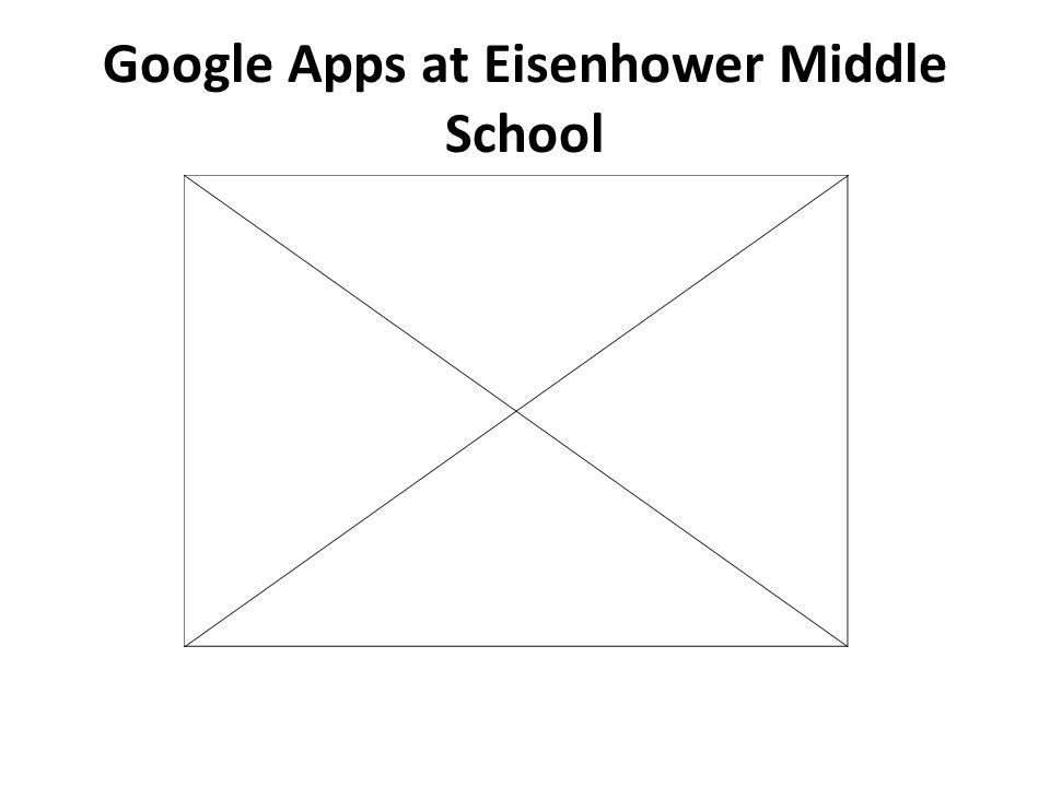 Google Apps at Eisenhower Middle School