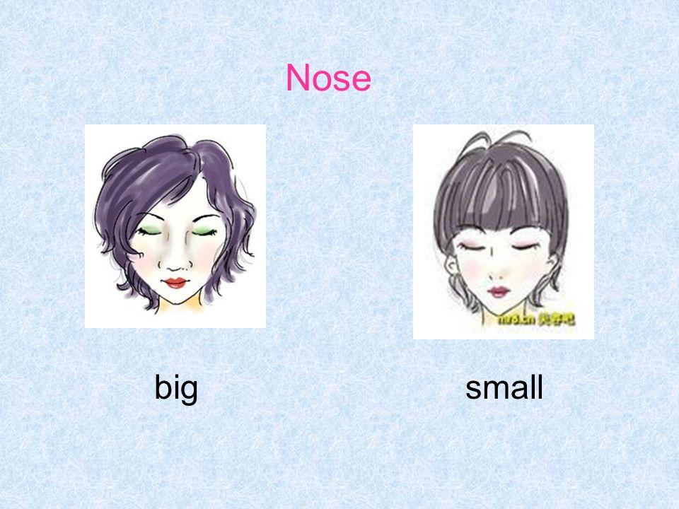 Nose bigsmall