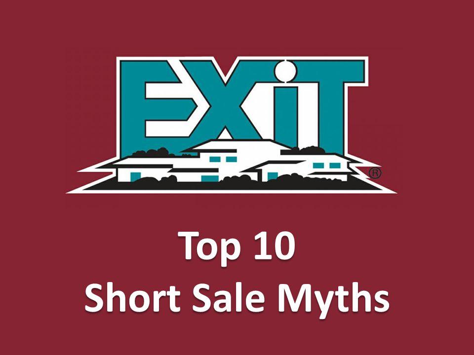 Top 10 Short Sale Myths