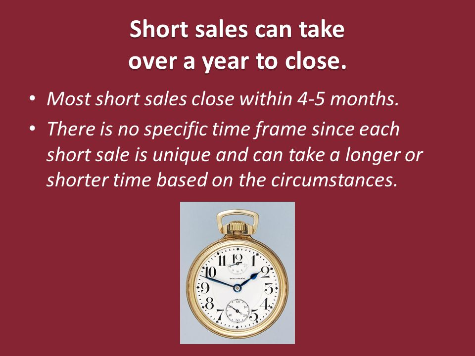 A homeowner's credit is better off if they foreclose as opposed to a short sale.