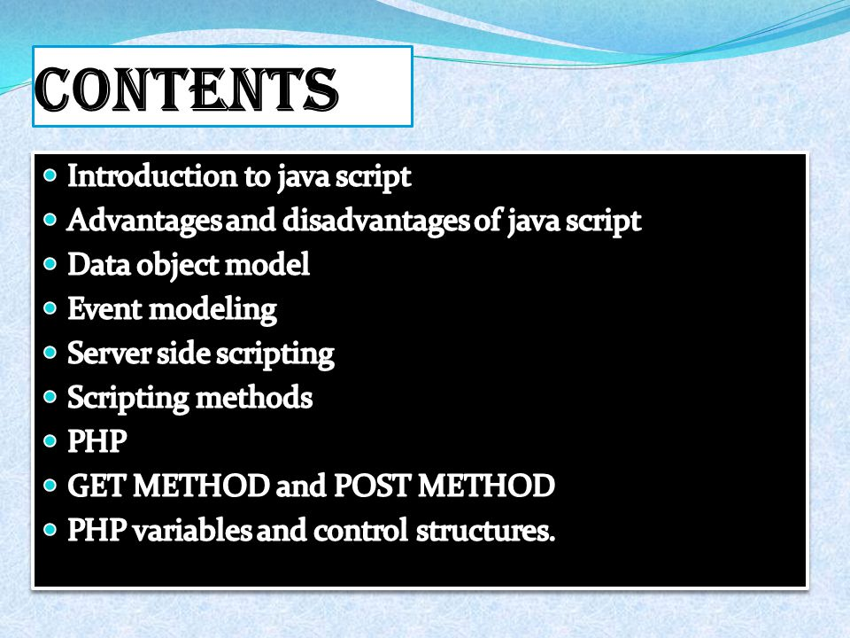 Client-data script It refers to class of computer programs on the web that are executed client-side, by the user`s web browser, instead of server side.