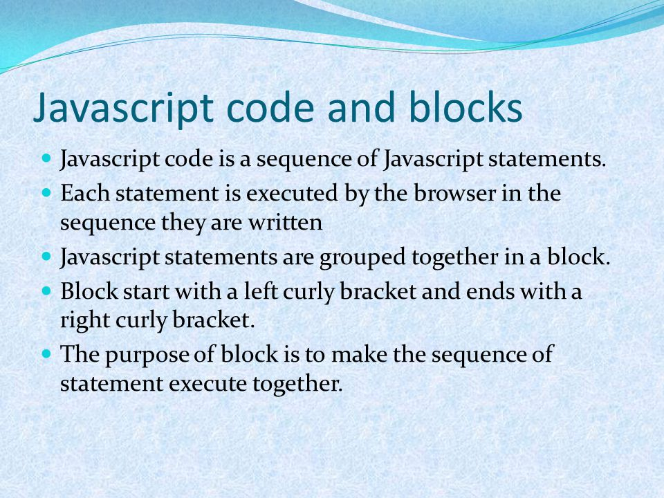 The switch statement If you want to select one of many blocks of code to be executed, use the switch statement.