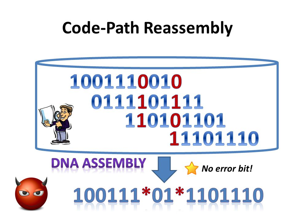 Code-Path Reassembly No error bit!