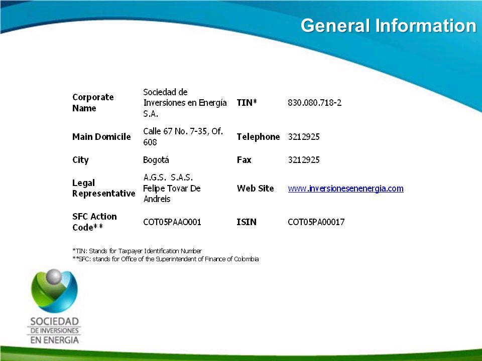 Historia SIE General Information