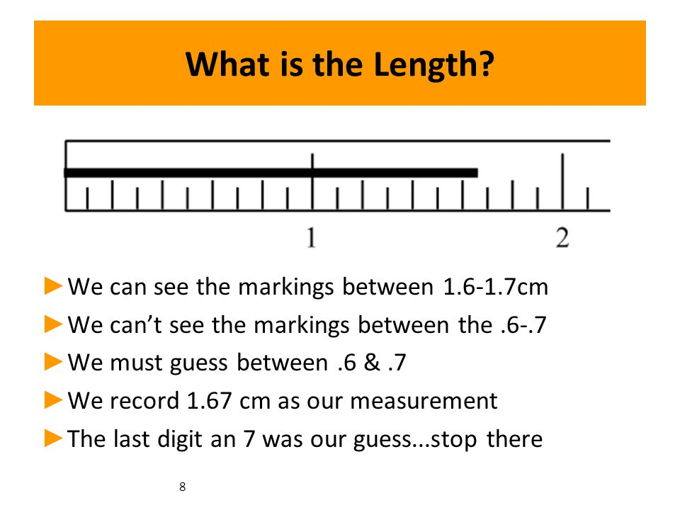 8 What is the Length.