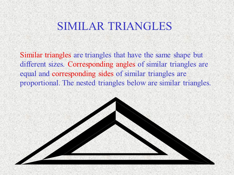 A BC E D F Consider the similar triangles to the lower right.