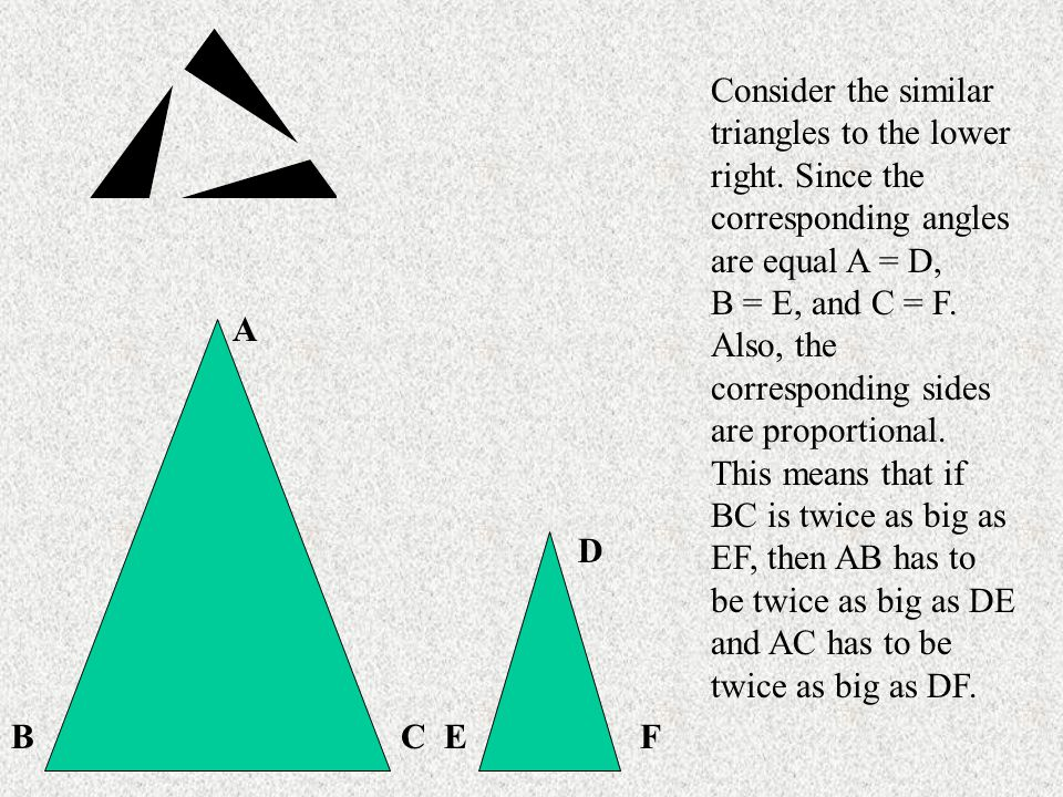 2.Triangle ABC is similar to Triangle GHF. If AC = 34, BC = 8 and HF = 2 what is GF.