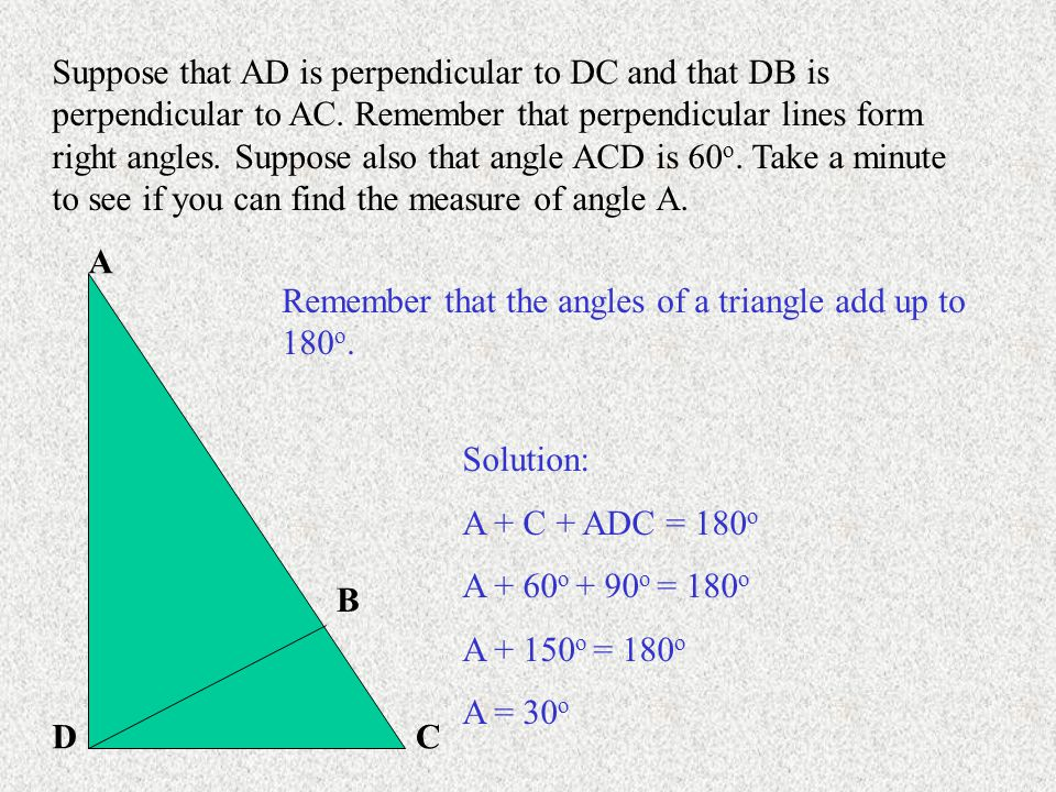 Go on to Part 3: Parallel Lines Angles, and Triangles