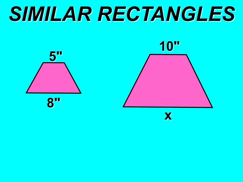 SIMILAR RECTANGLES 5