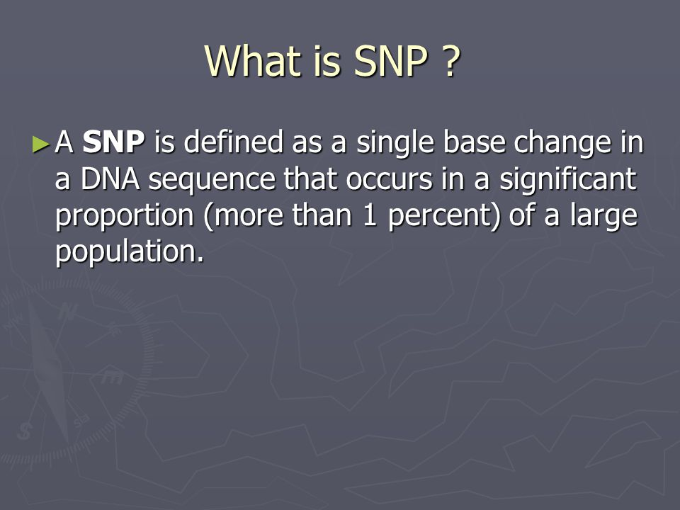 Direct Sequencing ► Sanger dideoxysequencing can detect any type of unknown polymorphism and its position, when the majority of DNA contains that polymorphism.