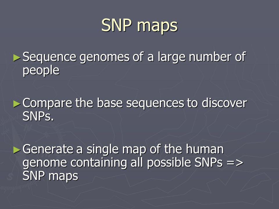 SNP-Haplotype DNA Sequence GATATTCGTACGGA-T GATGTTCGTACTGAAT GATATTCGTACGGA-T GATATTCGTACGGAAT GATGTTCGTACTGAAT SNP 1 2 3 4 5 6 AG- 2/6( BLACK EYE ) GTA 3/6 (BROWN EYE) AGA 1/6 (BLUE EYE) Haplotypes Phenotype BLACK EYE BROWN EYE BLACK EYE BLUE EYE BROWN EYE