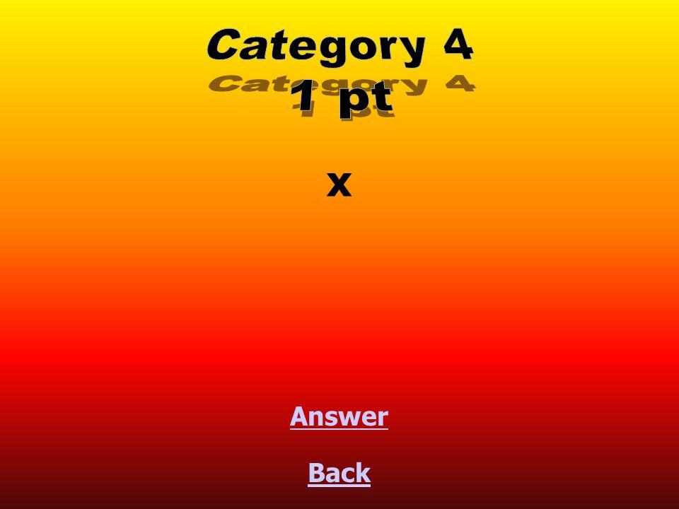 x Back Answer