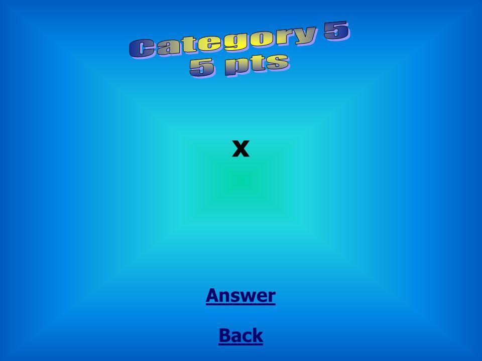 Back Answer x