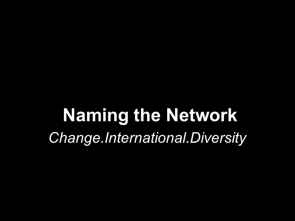 CHARACTERISTICS..Network Partnership of orgs AND individuals ….