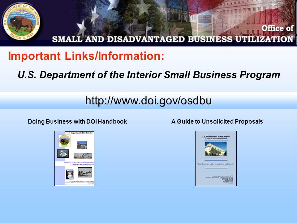 http://www.doi.gov//osdbu/calendar.html