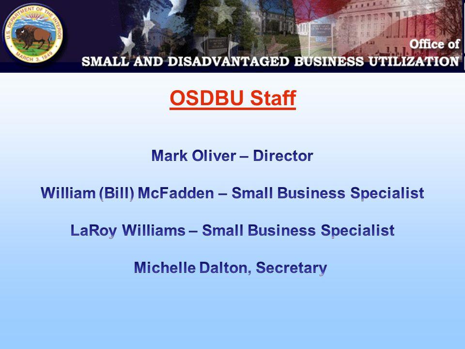 OSDBU Staff