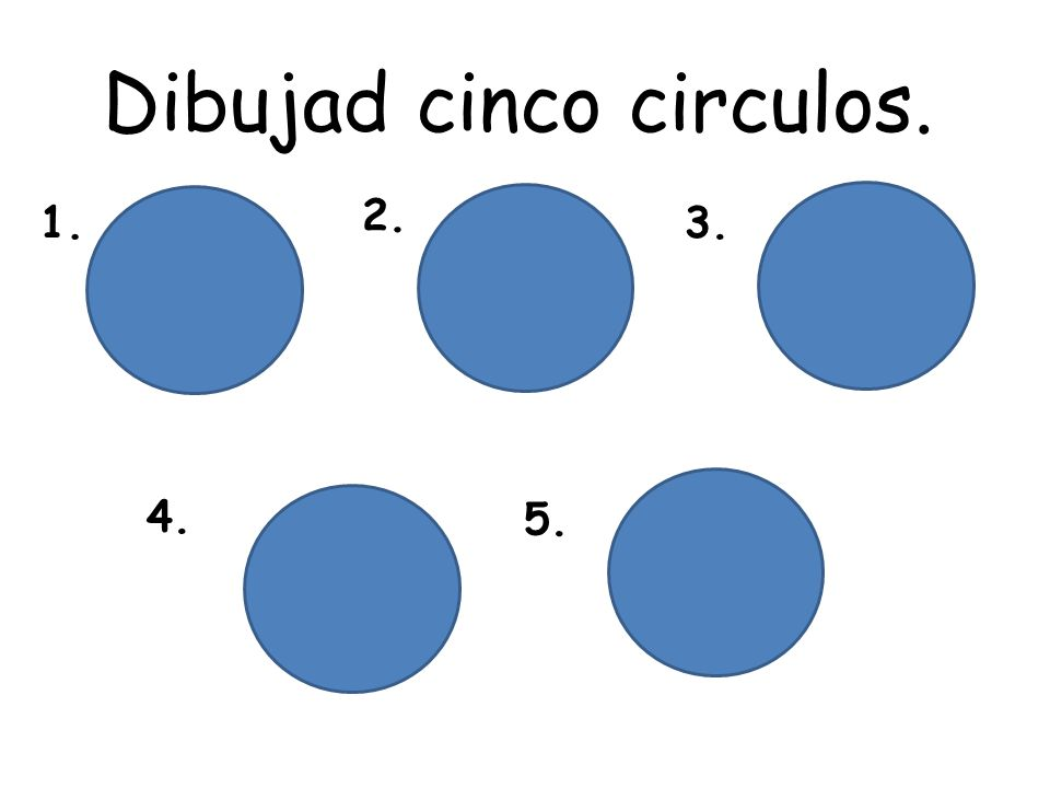 Actividad – ¿ Qué tal? Class will draw 5 circles in their jotter or have five circles cut out in front of them. They will ask the teacher the question