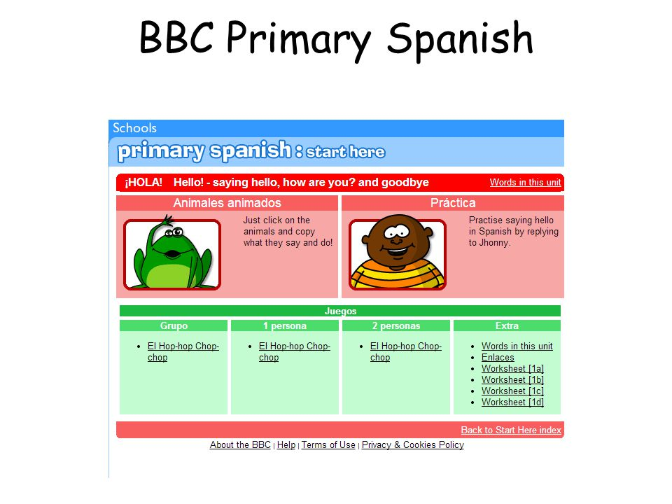 You will find a bank of sample ICT activities which you can use to practise the vocabulary in the classroom. This is not a prescriptive list of activi