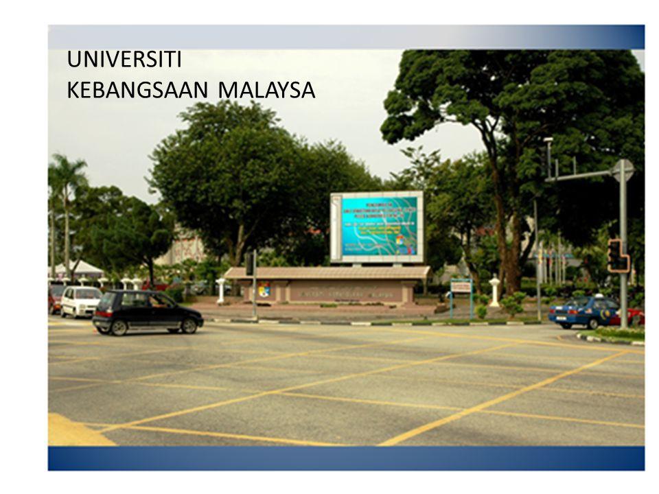 UNIVERSITI KEBANGSAAN MALAYSA