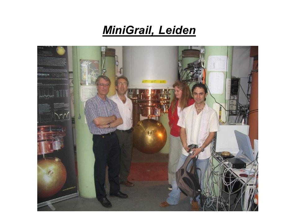MiniGrail, Leiden
