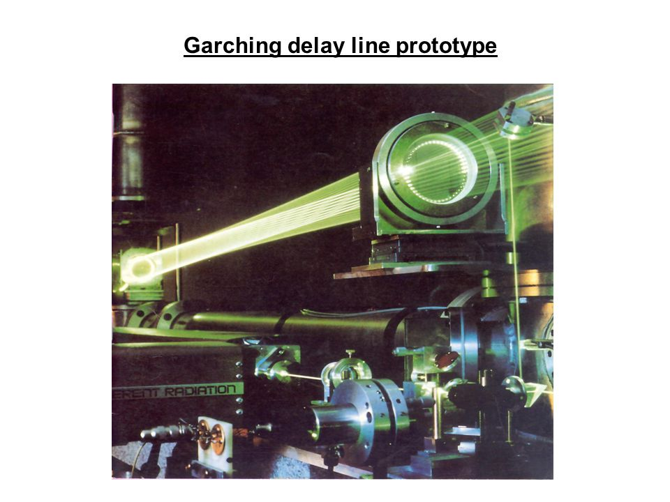 Garching delay line prototype