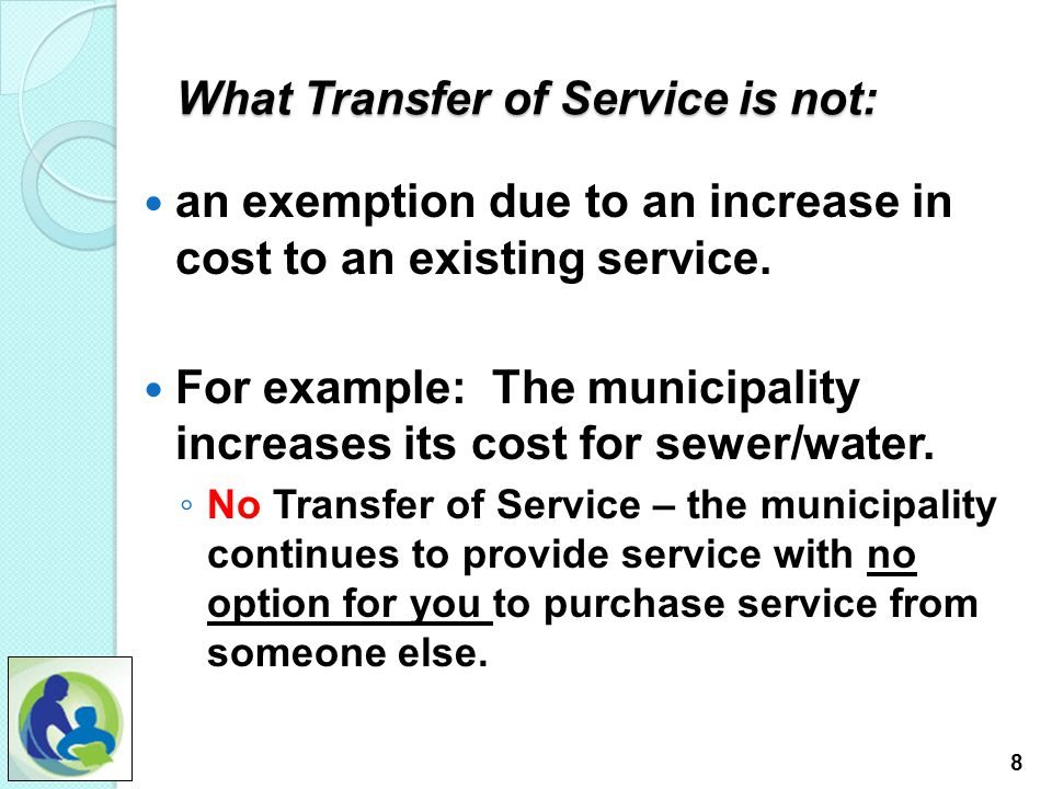 5.The TOS claim process. Part C For this presentation we will work through the SPED Request.