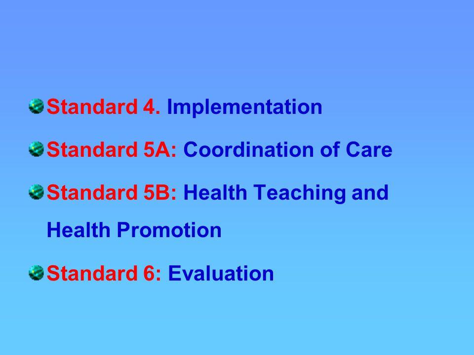 Standard 4.
