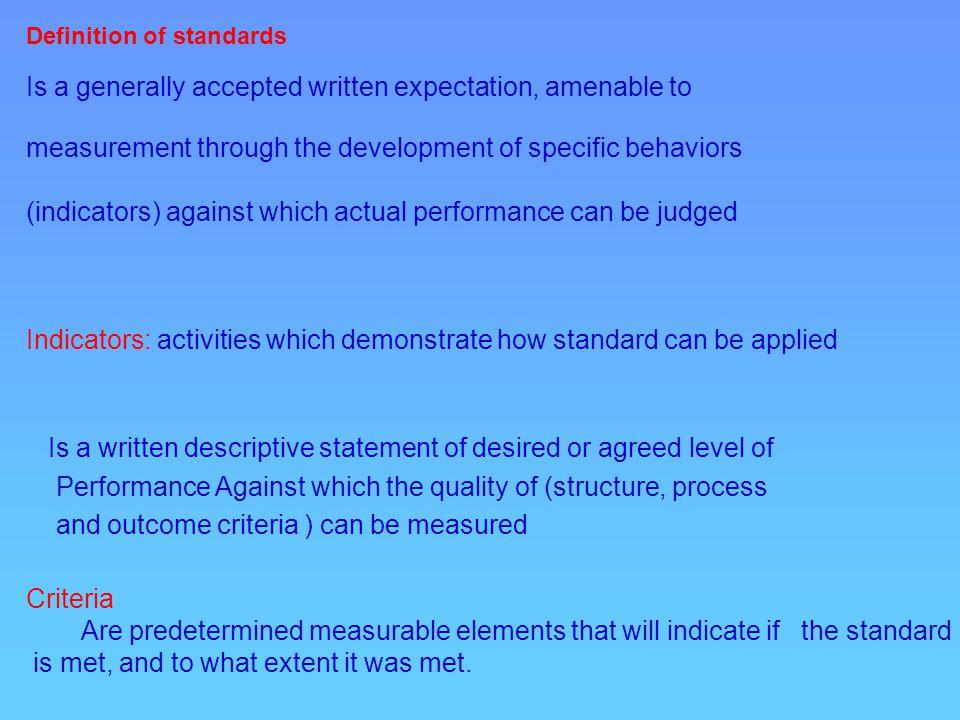 Standard5.Collaboration Standard6. Ethics Standard7.
