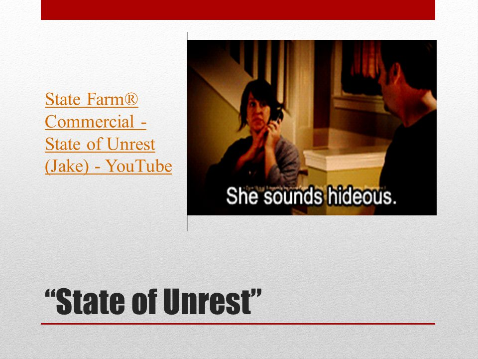 state of regret State Farm: State of Regret - YouTube