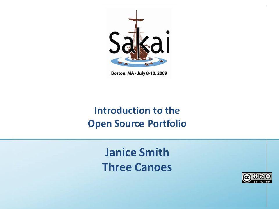 July 200910th Sakai Conference - Boston, MA, U.S.A.