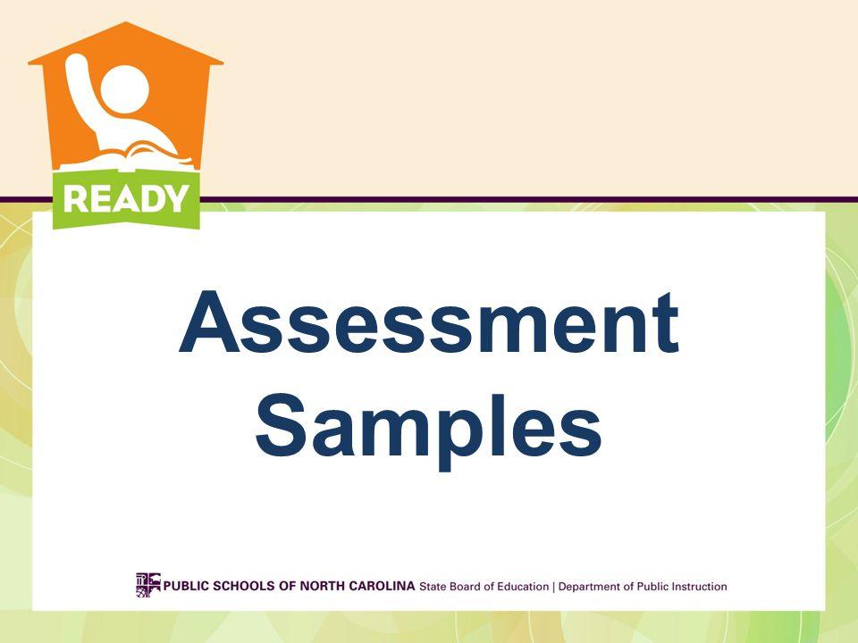 Assessment Samples