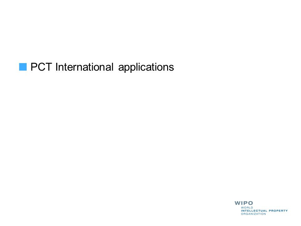 PCT International applications