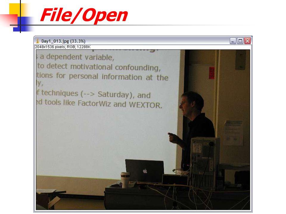 File/Open