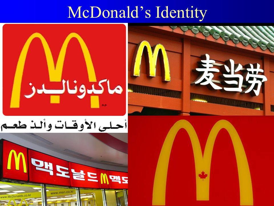 McDonald's Identity