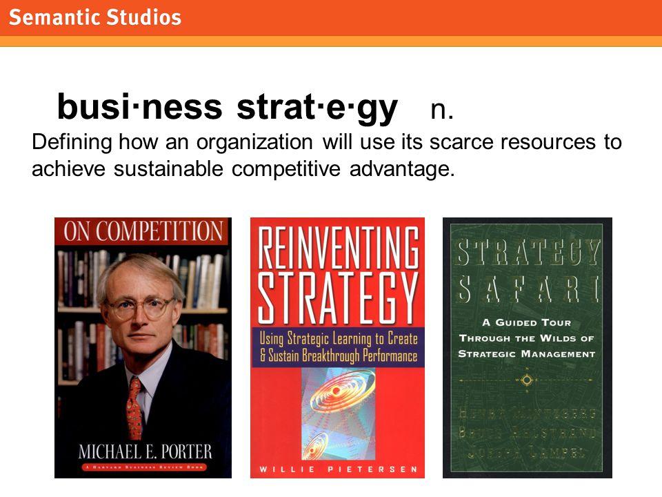 morville@semanticstudios.com 13 Strategy Defined as 5 P's Plan.