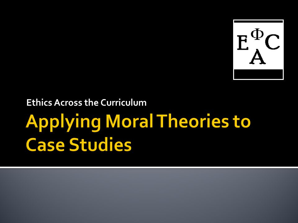 Ethics Across the Curriculum