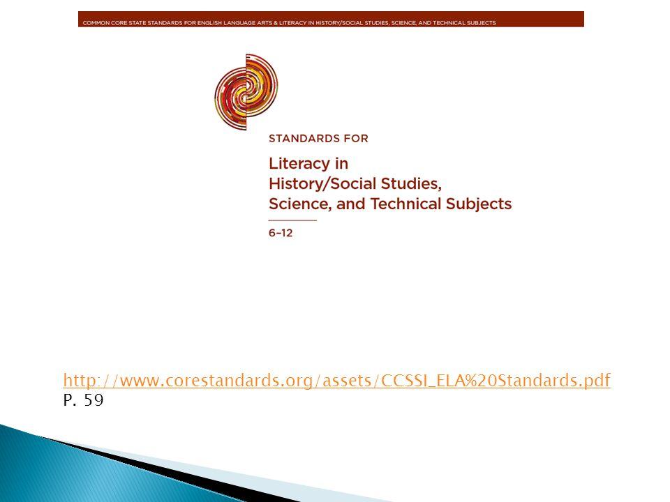 http://www.corestandards.org/assets/CCSSI_ELA%20Standards.pdf P. 59