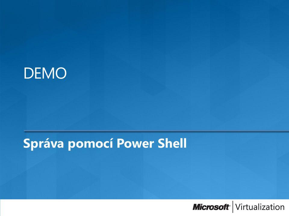 Správa pomocí Power Shell